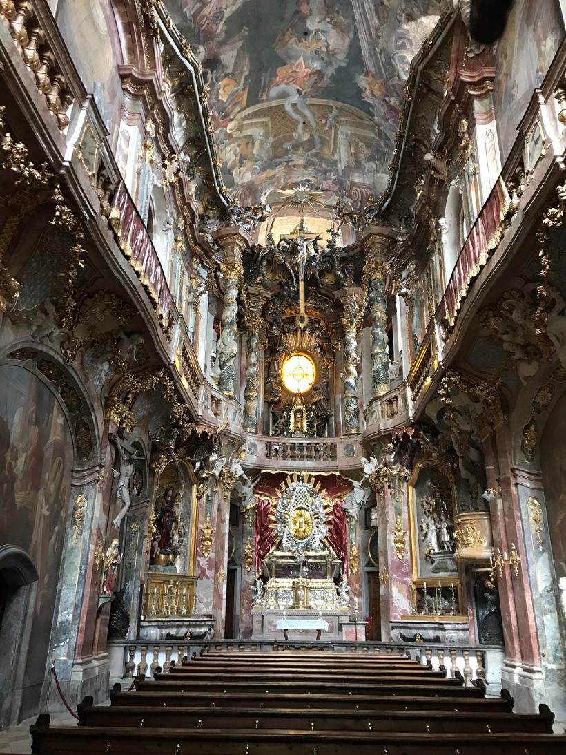 St. Peter's Church Munich Germany Europe