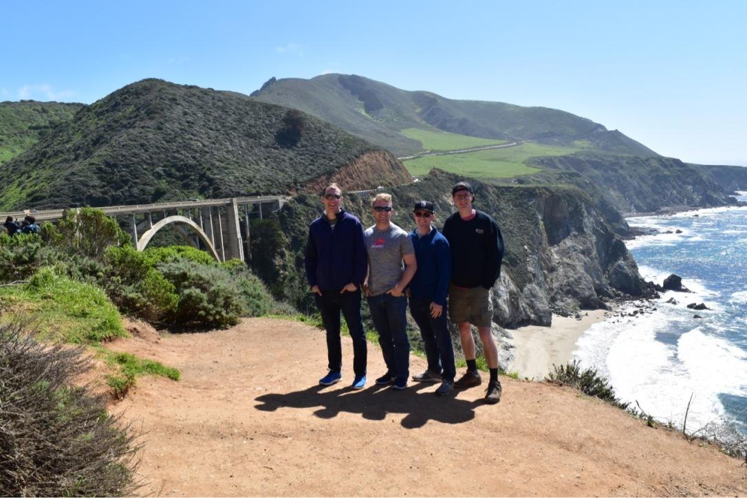 Bixby Bridge West Coast California