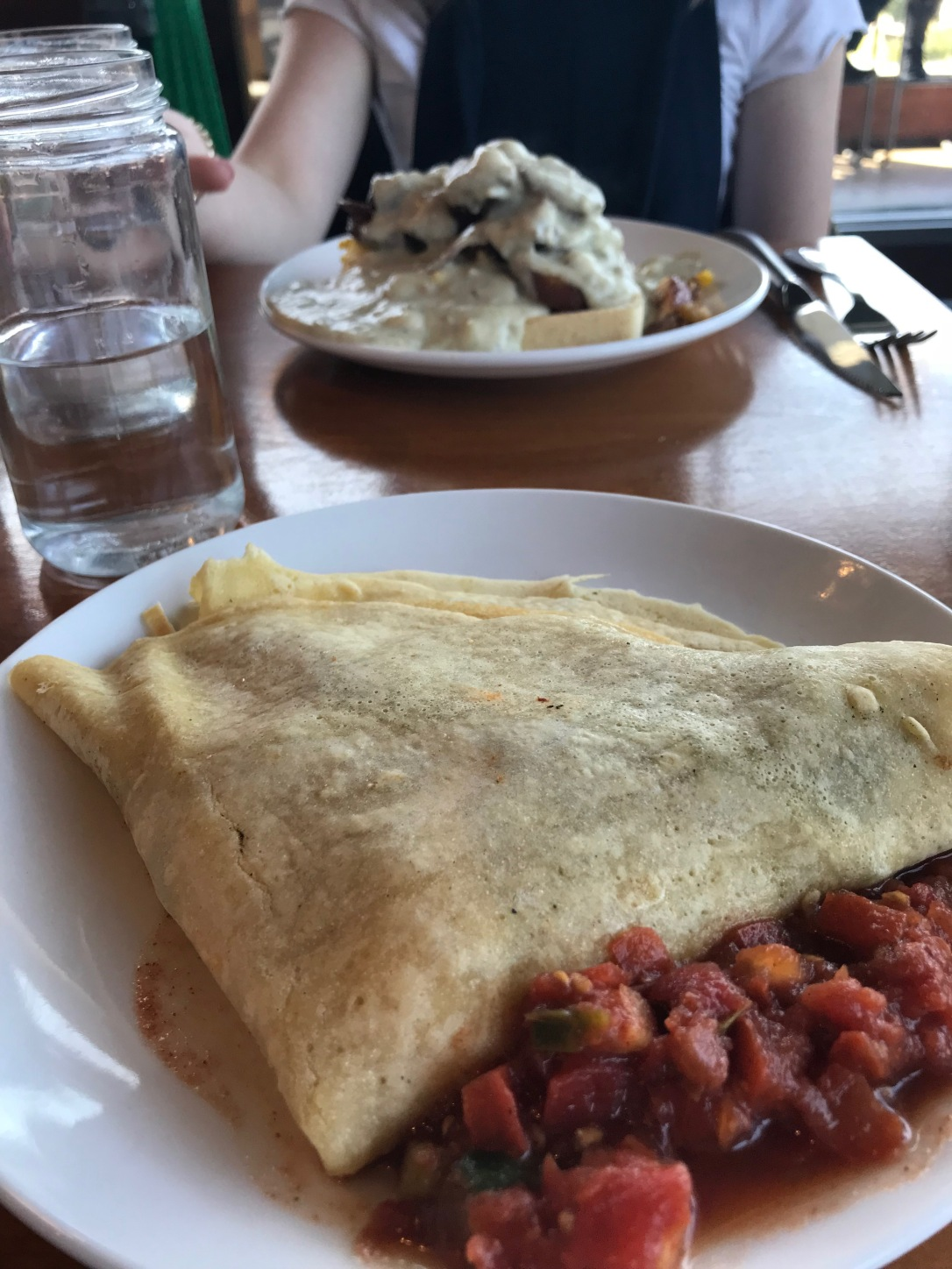 Breakfast Potato Crepe Rooster South Grand St Louis
