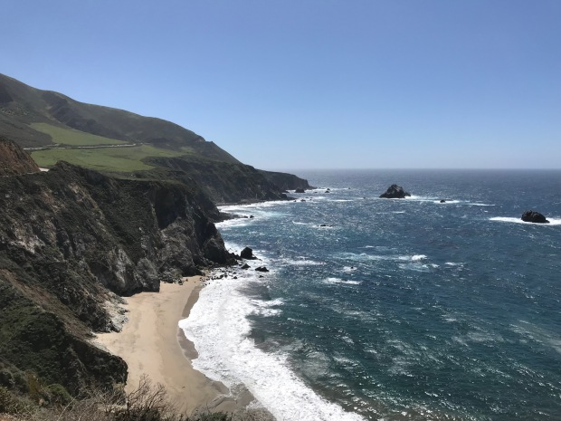 The Pacific West of Highway 1 California
