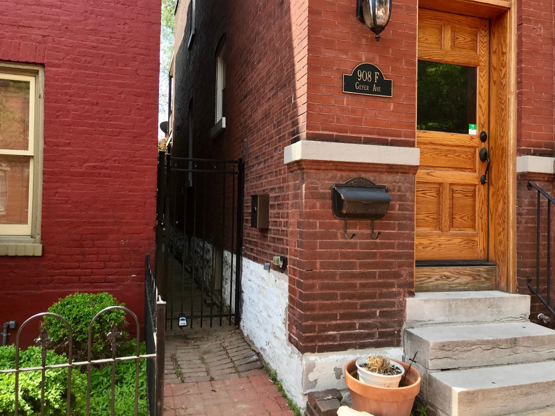 Geyer St Louis Soulard Brick