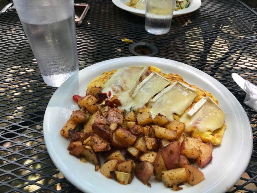 Ham Brie Omelet Soulard Coffee Garden Cafe