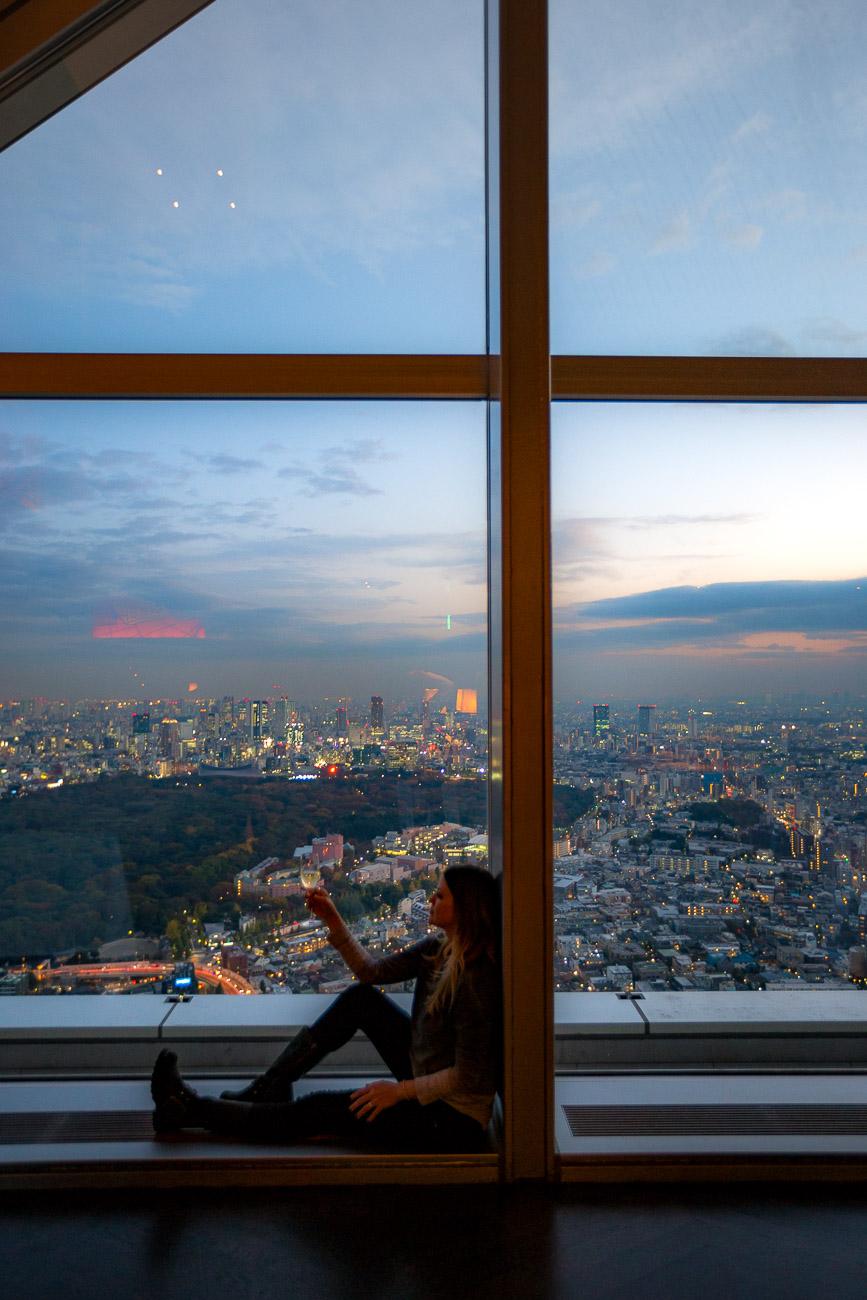 Juliana Dever Park Hyatt Tokyo NYGrill