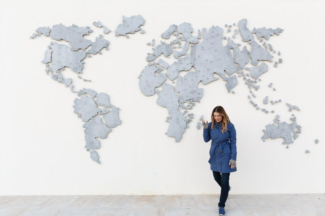Juliana Dever walking away from the world Jordan