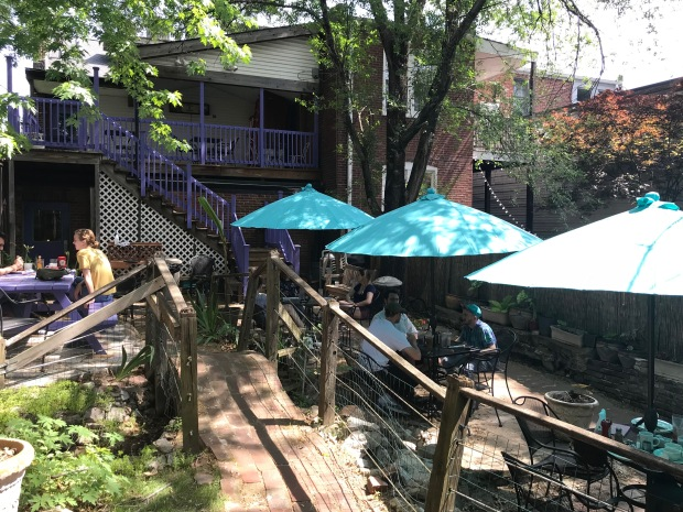 Soulard Coffee Garden Cafe Summer
