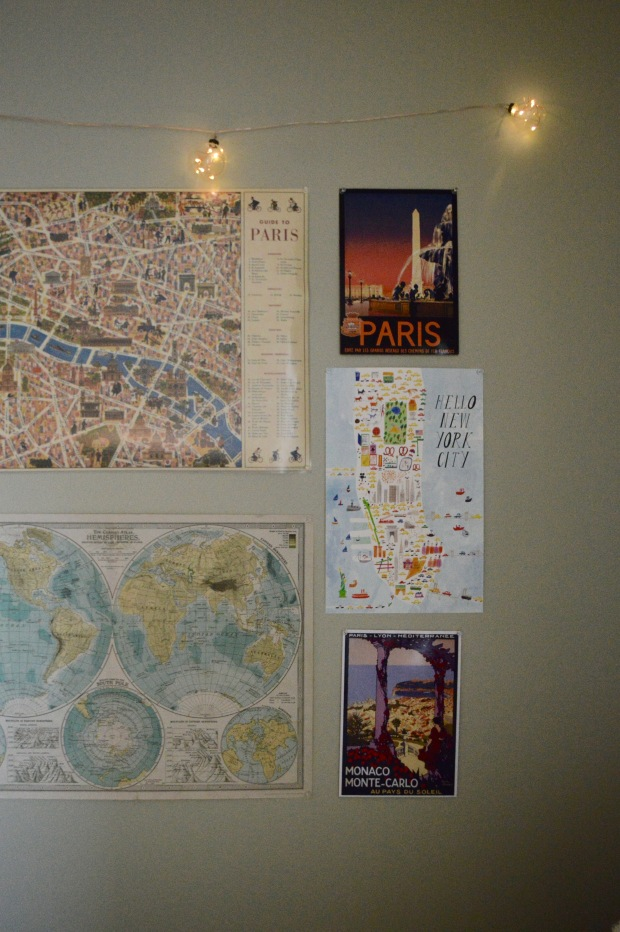 Cartography Map Travel Wall Decor