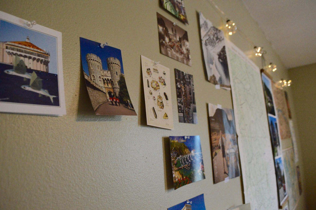Room Makeover Round Trip Travel Post Card