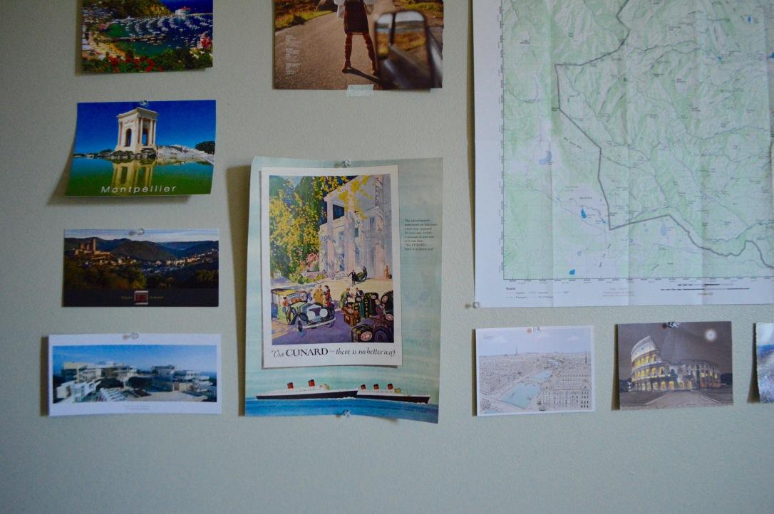 Wall Decor Postcard Round Trip Travel