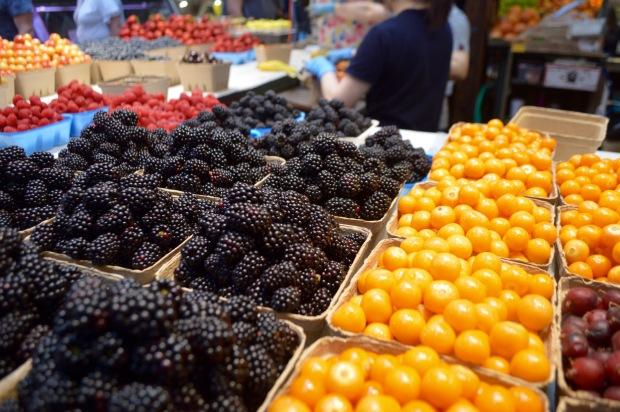 Berries Granville Island Market Vancouver