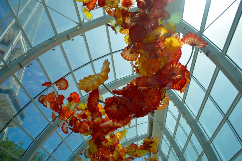 Chihuly Museum Greenhouse Floral Glass Seattle