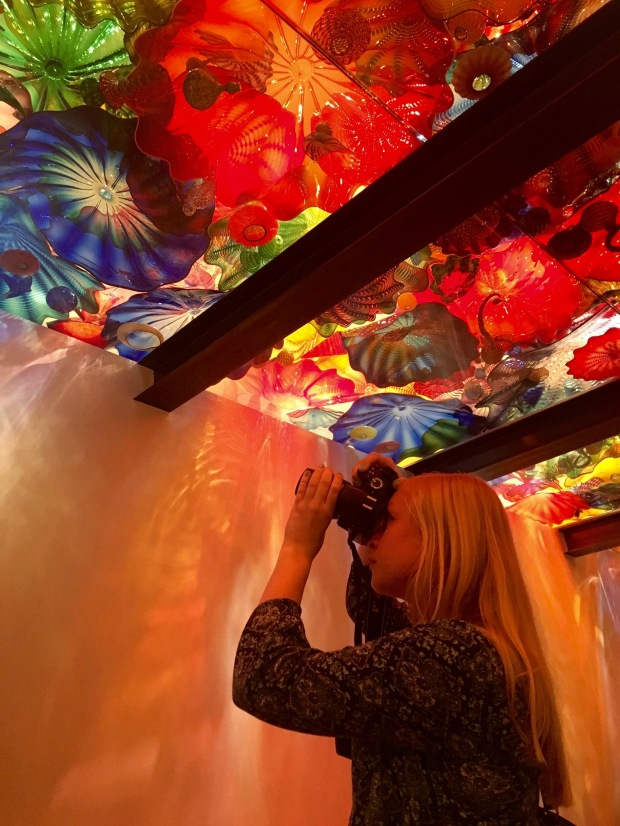 Chihuly Museum Seattle Glass Ceiling