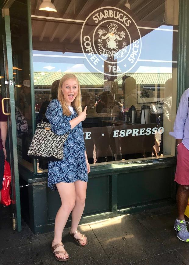 First Starbucks Seattle Pike Market