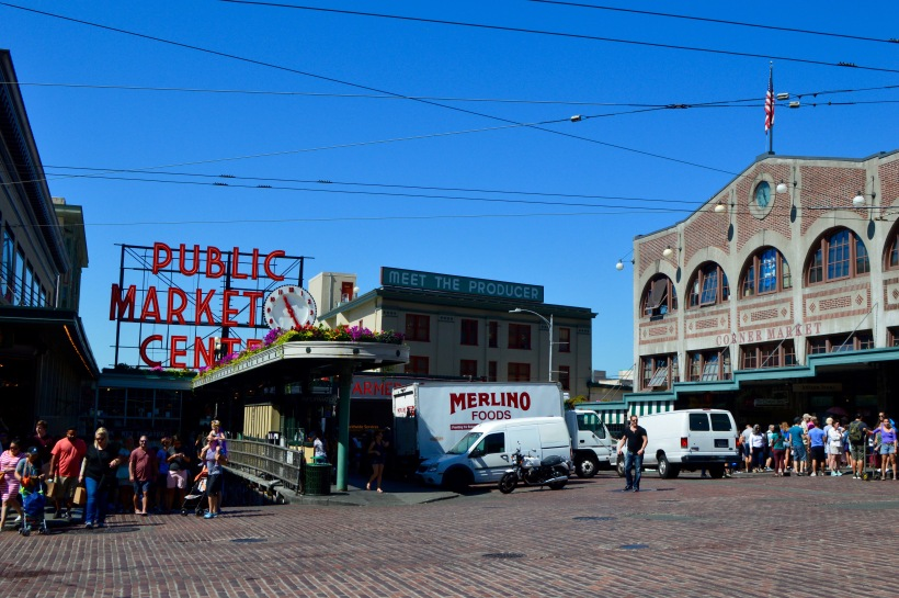 Pike Place Market Seattle Round Trip