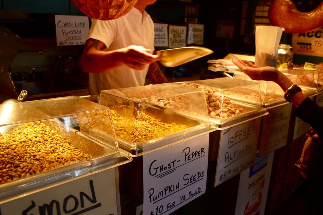 Pike Place Market Seattle Washington Food