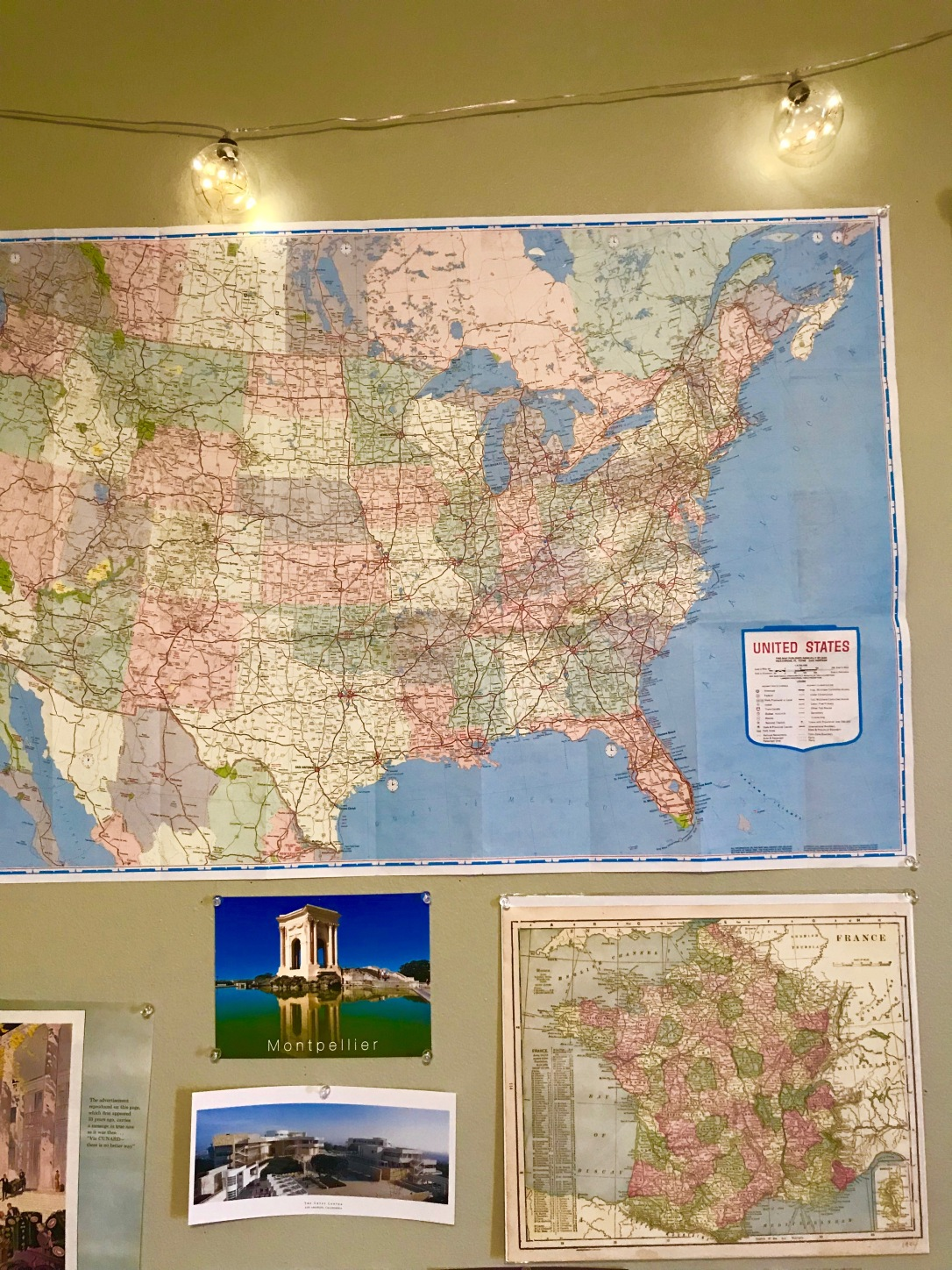 Travel Wall Maps Cartography Round Trip