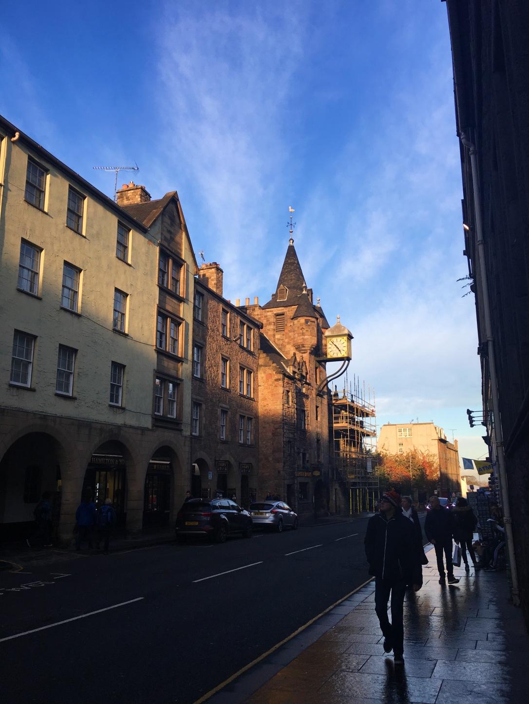 Edinburgh Castle Scotland Street
